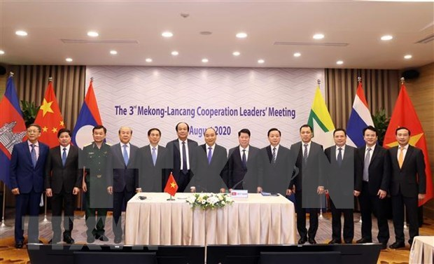 Leaders of countries involved speak highly of Mekong-Lancang Cooperation: Lao media hinh anh 1