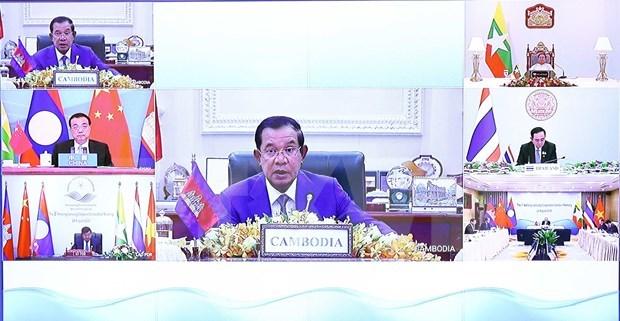 Cambodian PM shares vision for future Mekong-Lancang Cooperation hinh anh 1