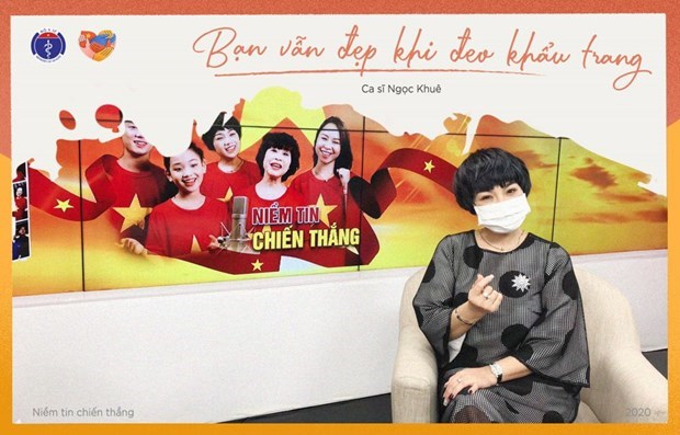 COVID-19: Campaign encourages people to wear masks hinh anh 1