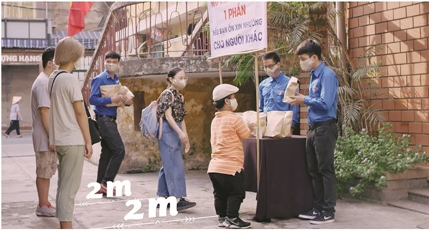Ministry launches music video to promote fight against COVID-19 hinh anh 1