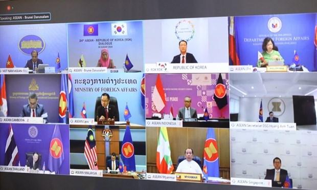 ASEAN, RoK hold 24th dialogue hinh anh 1