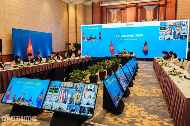 ASEAN, US continue to foster economic engagement hinh anh 1