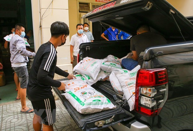 Da Nang receives support from donors in COVID-19 fight hinh anh 1