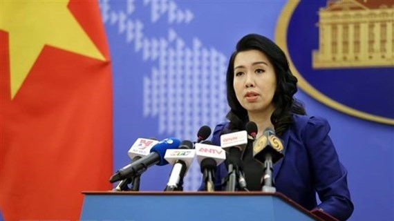 Activities in Truong Sa without Vietnam's permission have no merit: Spokeswoman hinh anh 1