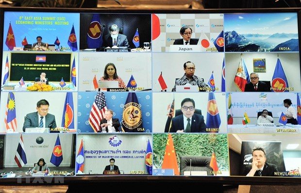 Meeting promotes ASEAN – East Asia economic cooperation hinh anh 1