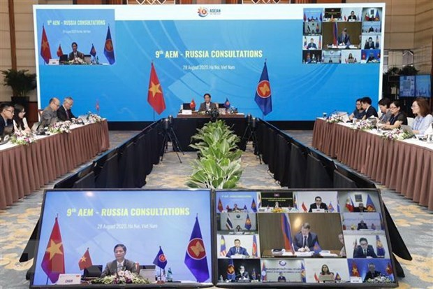 ASEAN, Russia work to shore up supply chains hinh anh 1