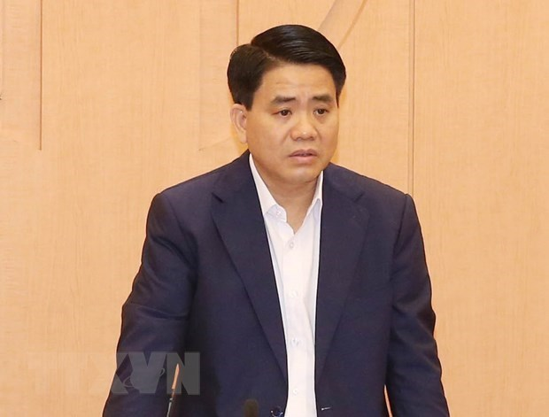 Chairman of Hanoi People's Committee prosecuted and detained hinh anh 1