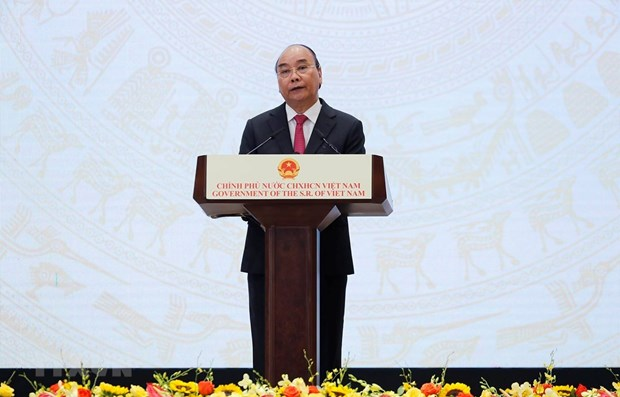 PM chairs ceremony marking 75th anniversary of National Day hinh anh 1