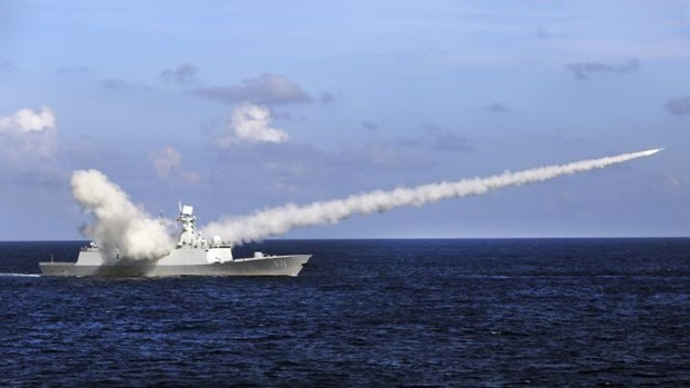 US condemns China's firing of missiles in East Sea hinh anh 1