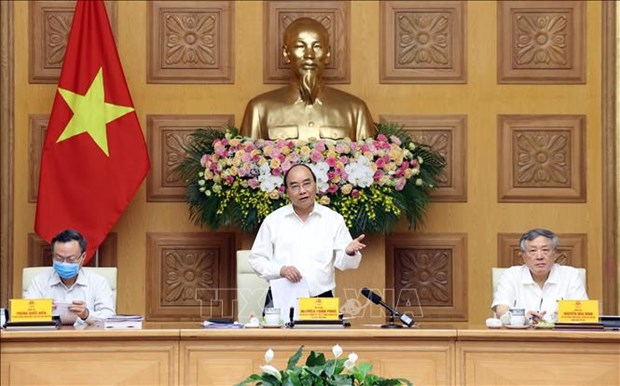 Sub-committee for socio-economic affairs of Party Congress convenes hinh anh 1