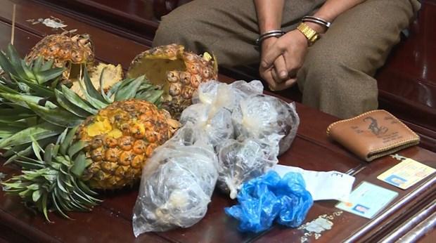 Drug trafficker caught in Dak Lak hinh anh 1