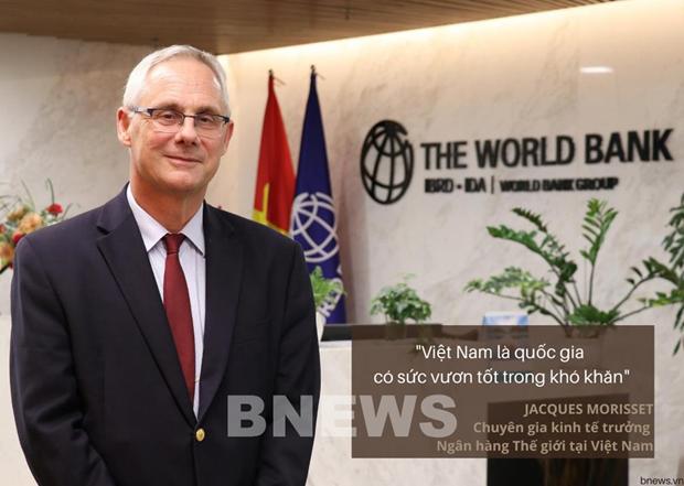 Vietnam good at taking advantage of crisis: WB expert hinh anh 1