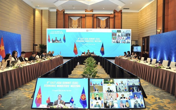 ASEAN, partners agree to promote post-COVID-19 economic cooperation hinh anh 1