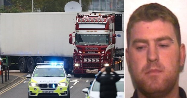 Irish driver pleads guilty to manslaughter of Essex lorry deaths hinh anh 1