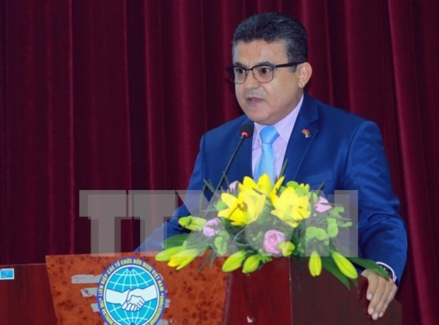 Palestinian Ambassador hails Vietnam's international missions hinh anh 1