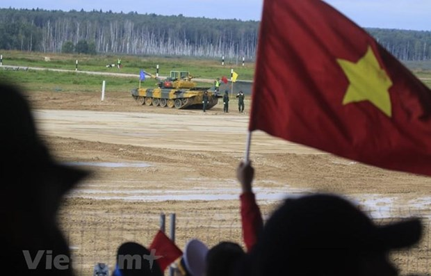 Vietnam achieves high at Army Games 2020 hinh anh 1