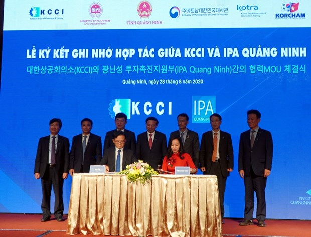 Conference promotes RoK investment in Quang Ninh hinh anh 1