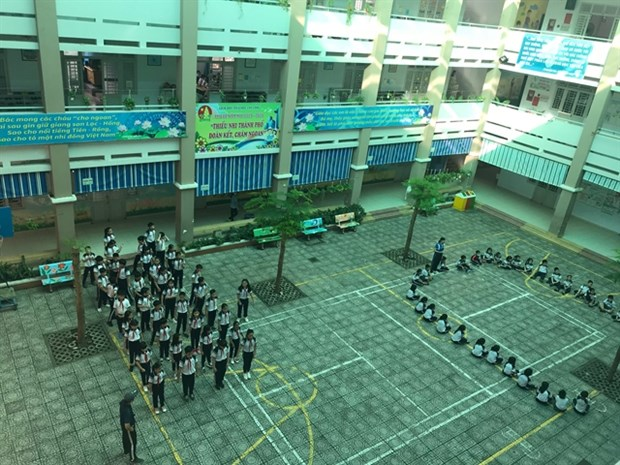 HCM City strengthens preventive measures ahead of new academic year hinh anh 1