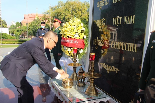 Activities held in Cambodia, Cuba to mark 75th National Day hinh anh 1