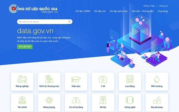 National data portal inaugurated hinh anh 1