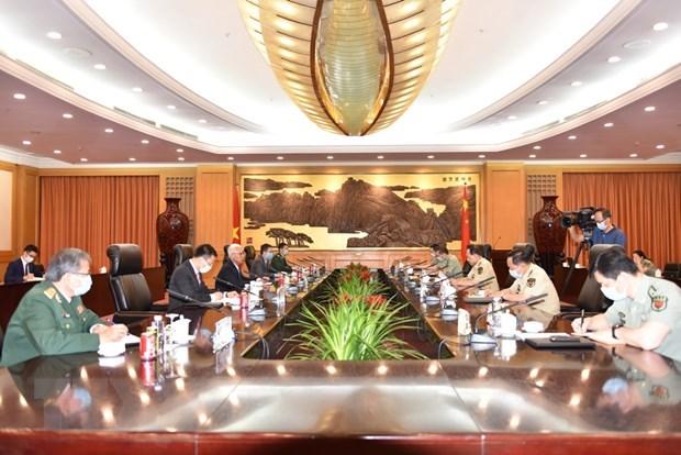 Vietnamese Ambassador meets Chinese State Counsellor hinh anh 1