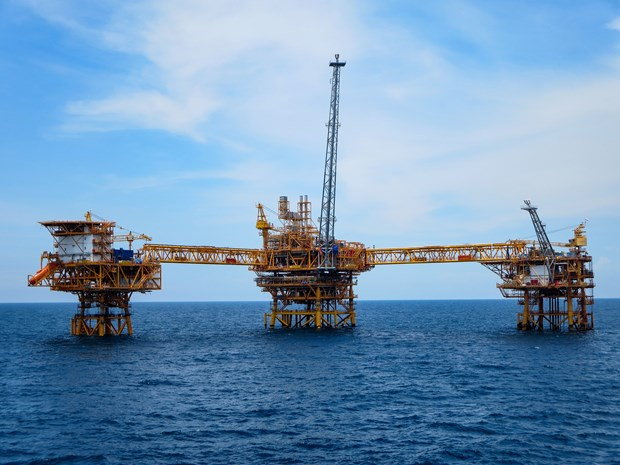 PetroVietnam exploits 7.76 million tonnes of oil equivalent in eight months hinh anh 1