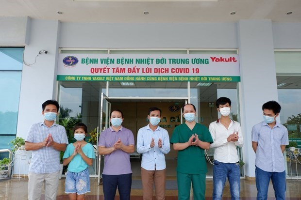 No new COVID-cases recorded on September 1 morning hinh anh 1