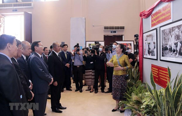 Activities held in Laos & Brunei to mark National Day hinh anh 1