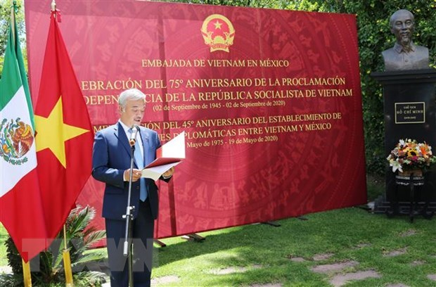 Vietnam's National Day observed in Mexico hinh anh 1