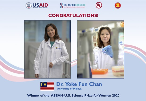 Winner of ASEAN-US Science Prize for Women 2020 announced hinh anh 1