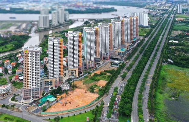 Real estate booms in HCM City's east as innovation city takes shape hinh anh 1