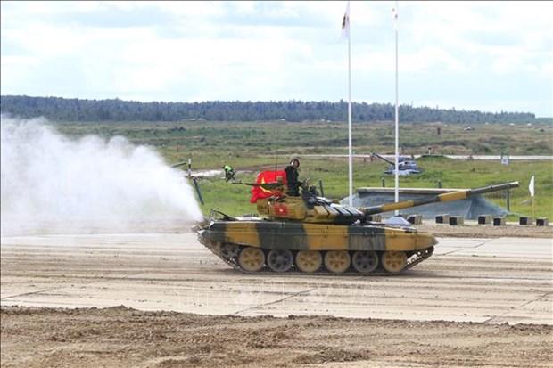 Vietnam placing highly at 2020 Army Games hinh anh 1