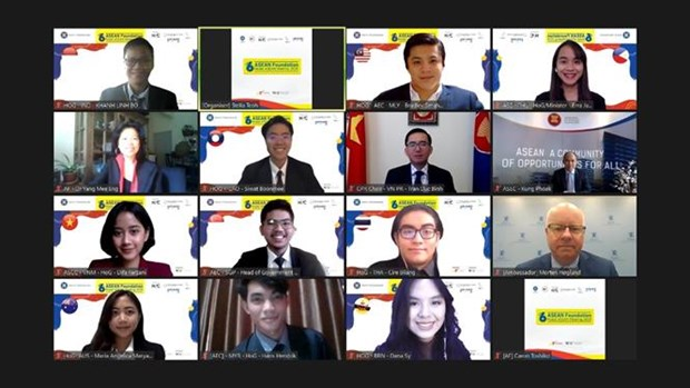 ASEAN Foundation Model ASEAN Meeting held virtually hinh anh 1