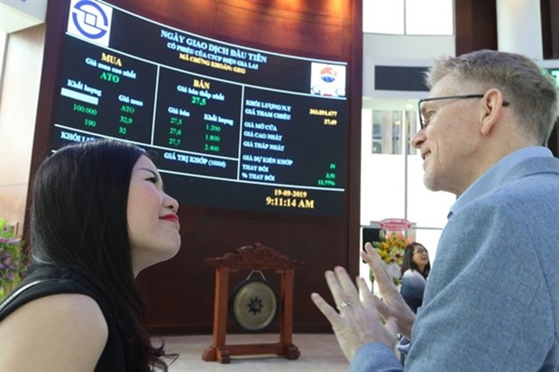 Foreign investors' accounts reach high hinh anh 1