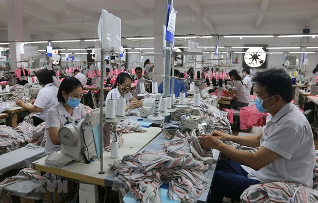 HCM City's industrial production down in eight months hinh anh 1