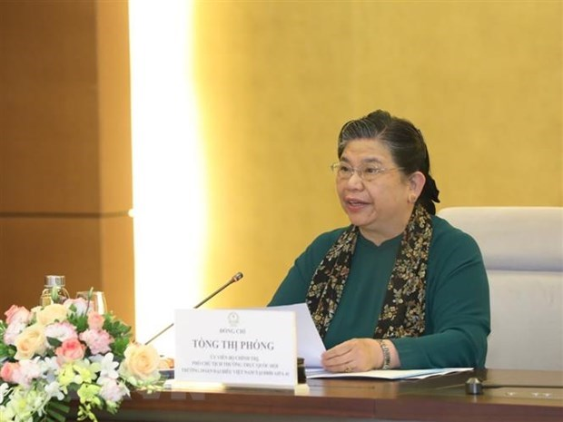NA Vice Chairwoman meets diplomats of ASEAN countries, AIPA observers hinh anh 1