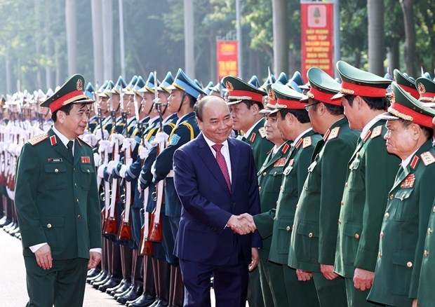 General Staff of Vietnam People's Army marks 75th founding anniversary hinh anh 1