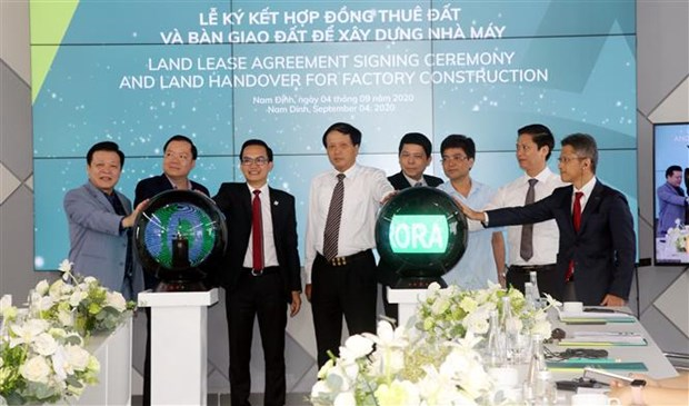 Nam Dinh's IP welcomes projects hinh anh 1