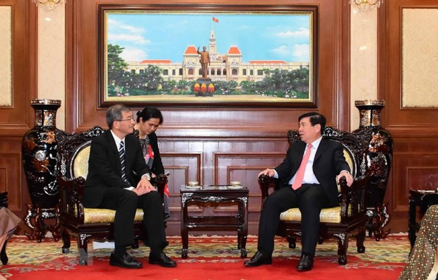 HCM City leader vows support for ties with Japan hinh anh 1