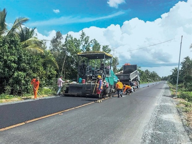 Major transport projects in Mekong Delta to be completed before Tet hinh anh 1