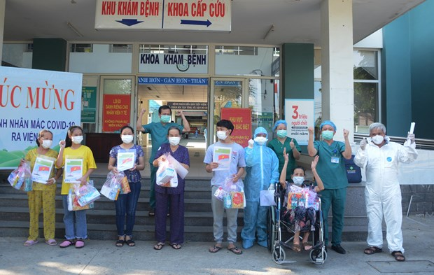 No new COVID-19 cases recorded on Sept. 7 hinh anh 1