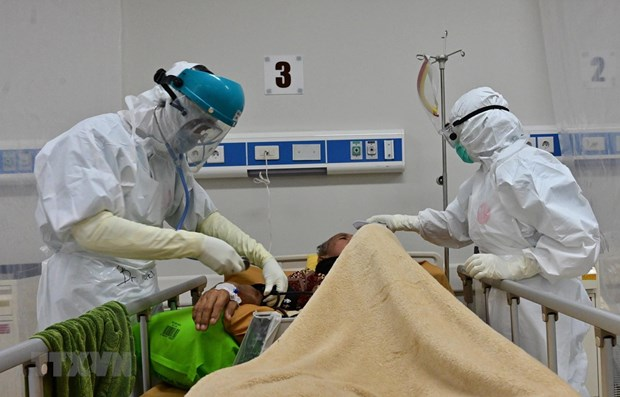 Indonesia reports over 3,440 COVID-19 cases on Sept 6 hinh anh 1