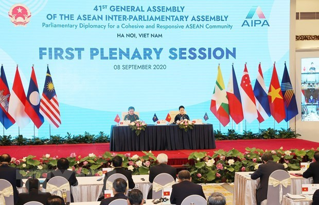 AIPA members support parliamentary diplomacy, cooperation hinh anh 1