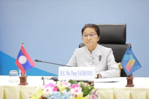 Top legislator of Laos highly values theme of AIPA 41 hinh anh 1