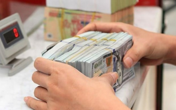Reference exchange rate down 2 VND on September 8 hinh anh 1