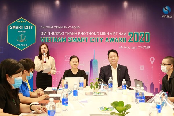 Award promotes sustainable development of smart cities hinh anh 1