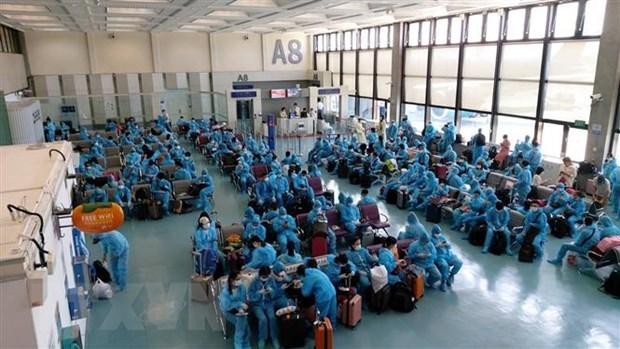 230 Vietnamese citizens flown home hinh anh 1
