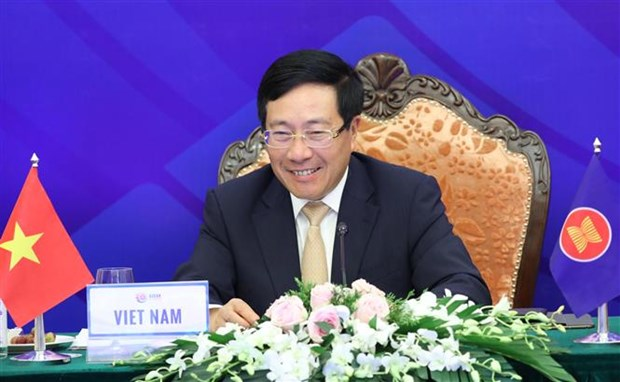 ASEAN 2020: sub-regional development on table on AMM-53 first working day hinh anh 1