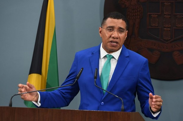 Congratulations to re-elected PM of Jamaica hinh anh 1