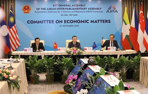 Role of AIPA parliaments in post-pandemic economic recovery discussed hinh anh 1